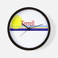 Terrell Wall Clock