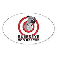 BullsEye Sticker (Oval)