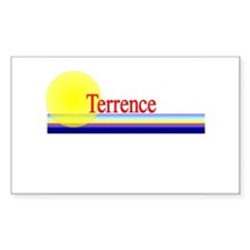 Terrence Rectangle Decal