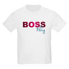Pink Boss Filly Kids T-Shirt
