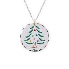 ChristmasTree-MerryChristmas.png Necklace