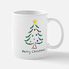 Merry Christmas Tree Mug