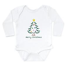 ChristmasTree-MerryChristmas.png Long Sleeve Infan