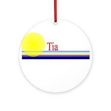 Tia Ornament (Round)