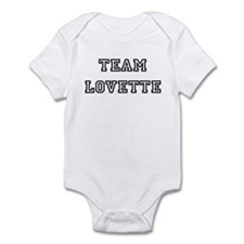 TEAM LOVETTE T-SHIRTS Infant Creeper