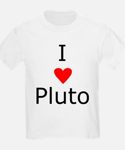 i heart Pluto Kids T-Shirt
