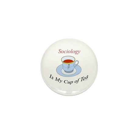 Sociology is my cup of tea Mini Button (10 pack)
