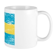 Vintage Bahamas Flag Coffee Mug