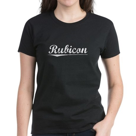 Aged, Rubicon Women's Dark T-Shirt
