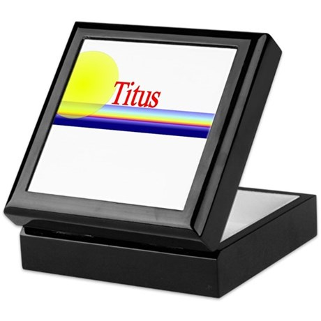 Titus Keepsake Box