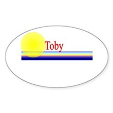 Toby Oval Decal