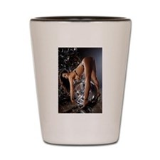 Hot Sexy Woman. Shot Glass