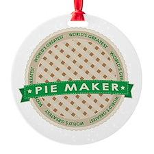 Apple Pie Maker Ornament