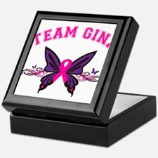 Team Gina Keepsake Box