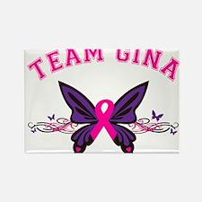 Team Gina Rectangle Magnet