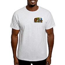 Ash Grey Turtle Nerd T-Shirt