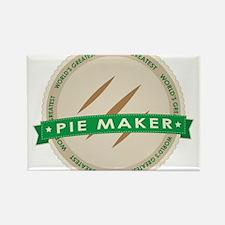 Apple Pie Maker Rectangle Magnet (10 pack)
