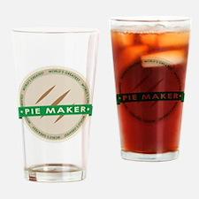 Apple Pie Maker Drinking Glass