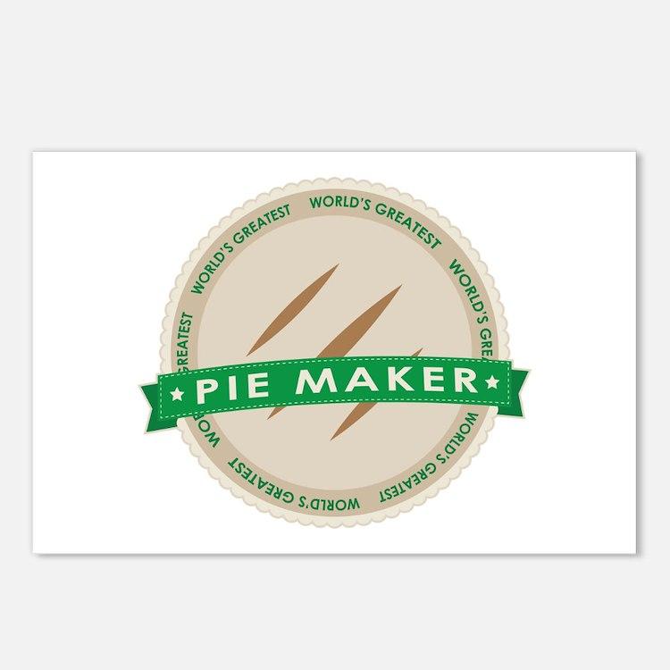 Apple Pie Maker Postcards (Package of 8)