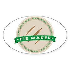 Apple Pie Maker Decal