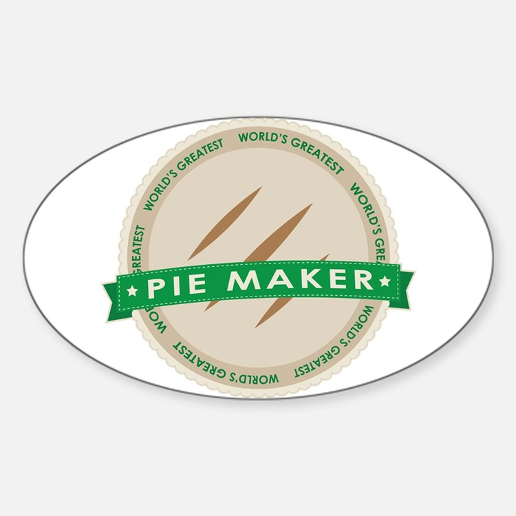 Apple Pie Maker Decal