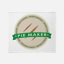 Apple Pie Maker Throw Blanket