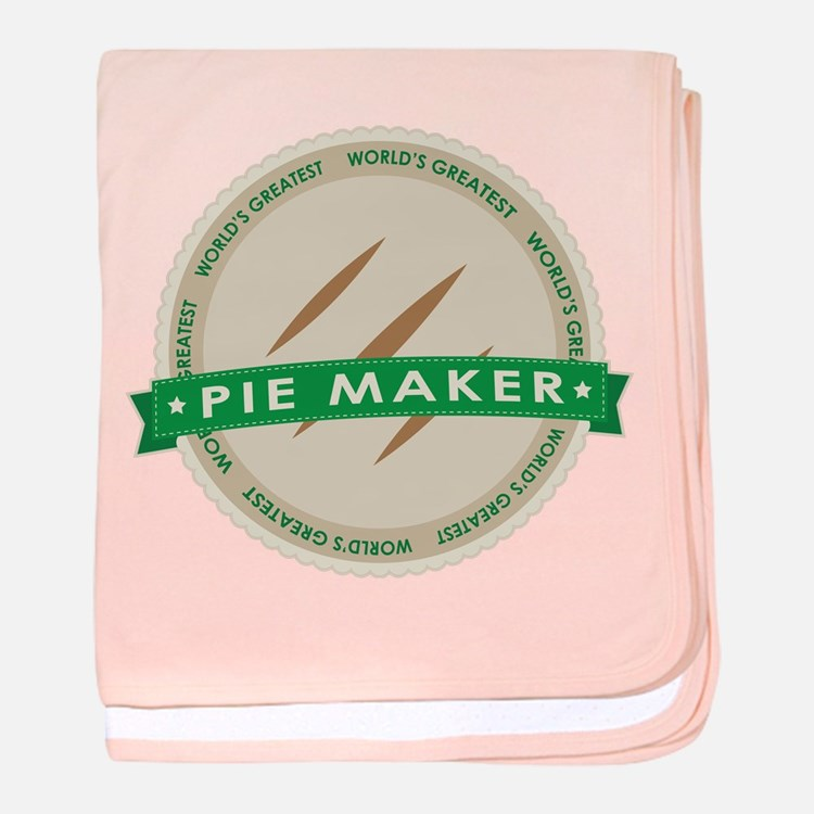 Apple Pie Maker baby blanket