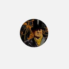 Aleister Crowley Mini Button