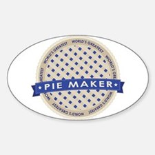 Blueberry Pie Maker Decal