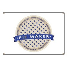 Blueberry Pie Maker Banner