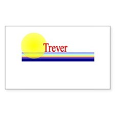 Trever Rectangle Decal
