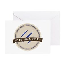 Blueberry Pie Maker Greeting Cards (Pk of 20)