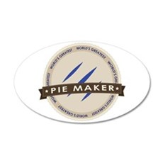 Blueberry Pie Maker Wall Decal