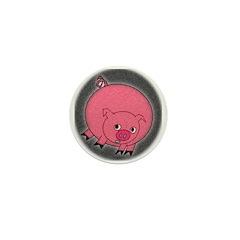 PIG BUBBLE Mini Button (10 pack)