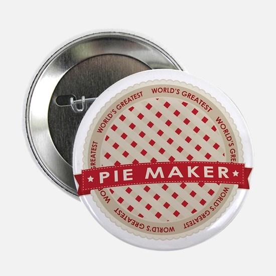 """Cherry Pie Maker 2.25"""" Button"""