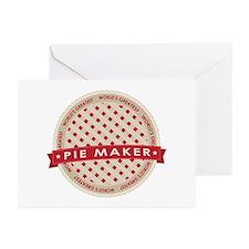 Cherry Pie Maker Greeting Cards (Pk of 20)