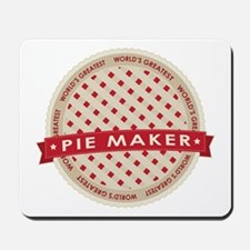 Cherry Pie Maker Mousepad
