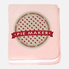 Cherry Pie Maker baby blanket