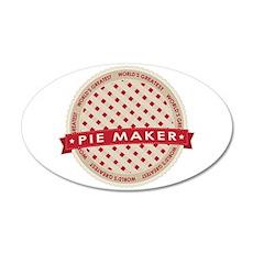 Cherry Pie Maker Wall Decal