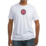 PIG BUBBLE Fitted T-Shirt