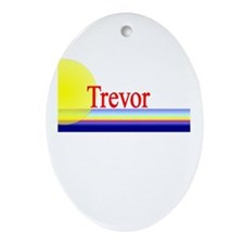 Trevor Oval Ornament
