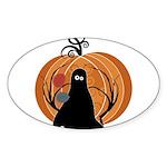 Halloween Sticker (Oval 50 pk)