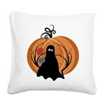 Halloween Square Canvas Pillow
