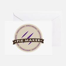 Plum Pie Maker Greeting Card