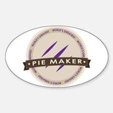 Plum Pie Maker Decal