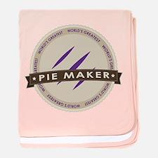 Plum Pie Maker baby blanket