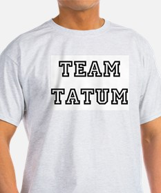 TEAM TATUM T-SHIRTS Ash Grey T-Shirt