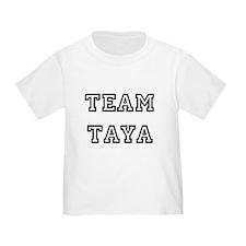 TEAM TAYA T-SHIRTS T