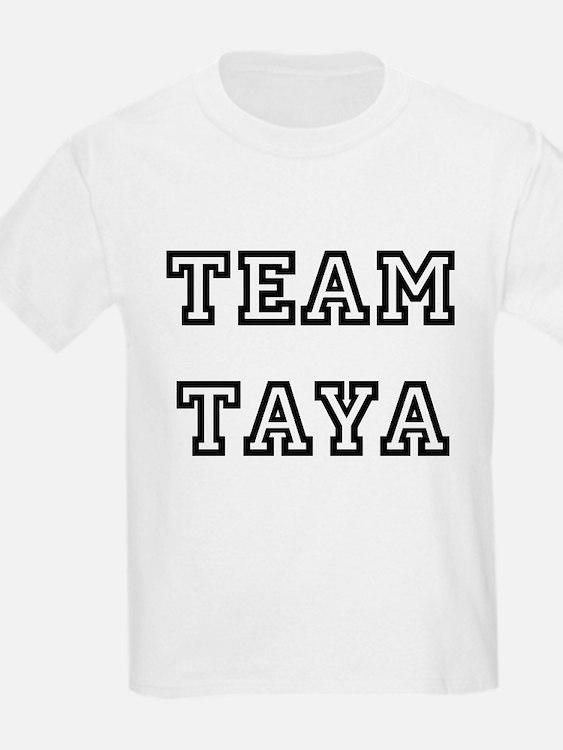 TEAM TAYA T-SHIRTS Kids T-Shirt