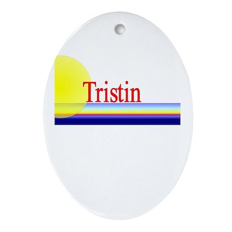 Tristin Oval Ornament